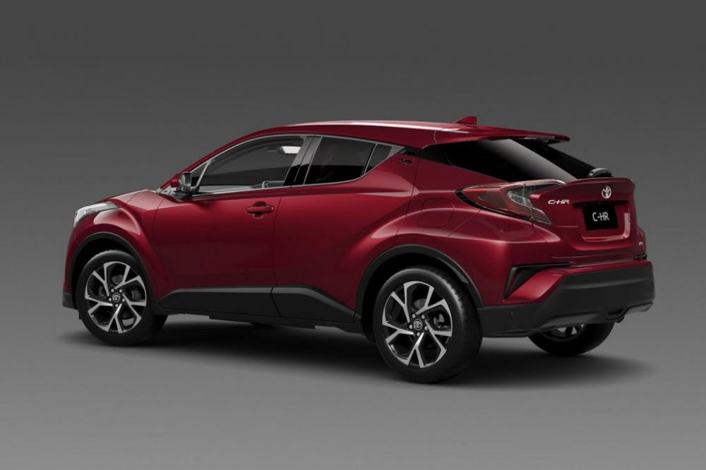 Toyota C – HR 2017 ตั้งเป้าจำหน่ายทั่วโลก แสนคันต่อปี