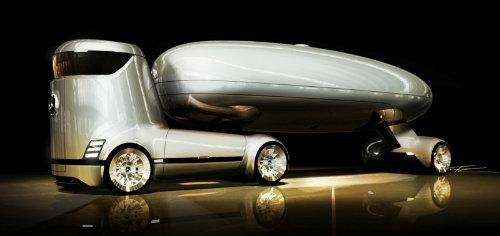 มาชมภาพเรนเดอร์ รถรถบรรทุกพลังงานไฟฟ้าจาก Mercedes – Benz