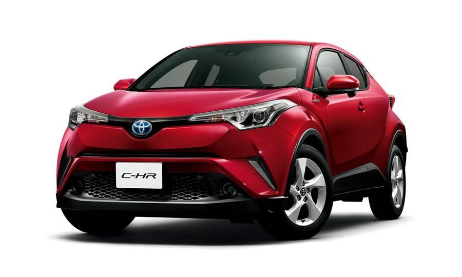 Toyota C-HR ออกมาใช้งานที่ไทยแล้ว