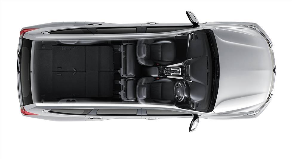 ภายในของ Mitsubishi Pajero Sport 2017