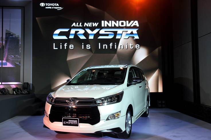 Toyota Innova Crysta 2017