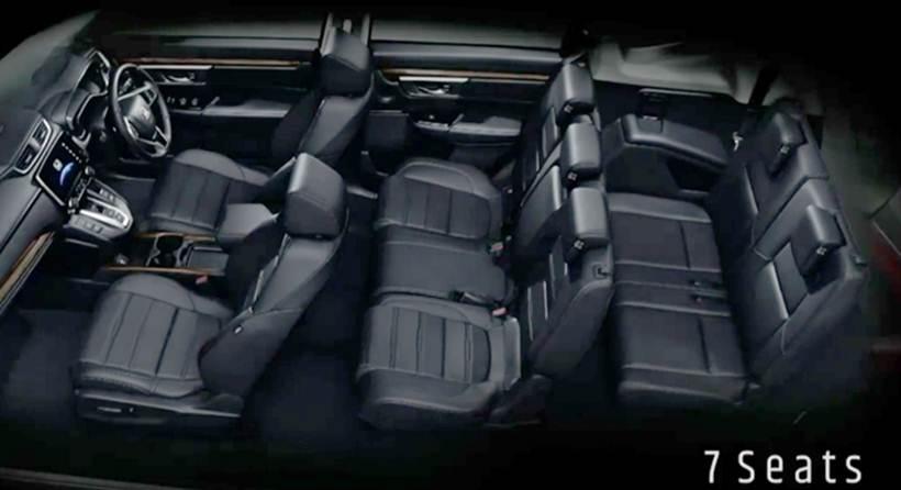 ชมภายใน Honda CR-V ก่อนเปืดตัวในไทย