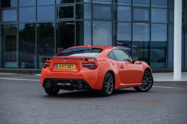 Toyota GT86 Orange