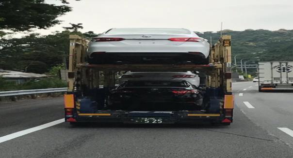 2018 Toyota Camry  ในประเทศญี่ปุ่น