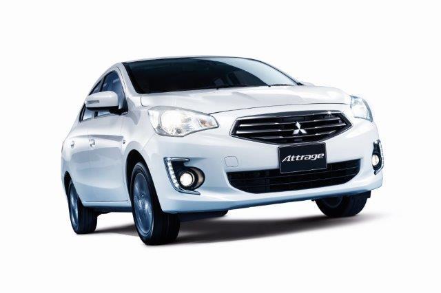 ภายนอกของ Mitsubishi Attrage 2017
