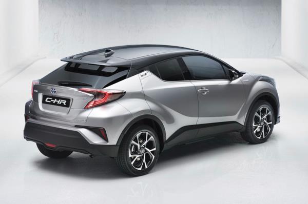 ด้านท้าย Toyota C-HR 2017
