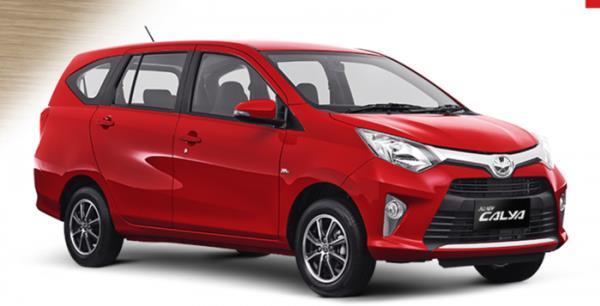 รูปแบบด้านข้างของ Toyota Calya 2016