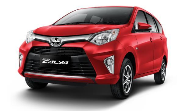 รูปแบบด้านหน้าของ Toyota Calya 2016