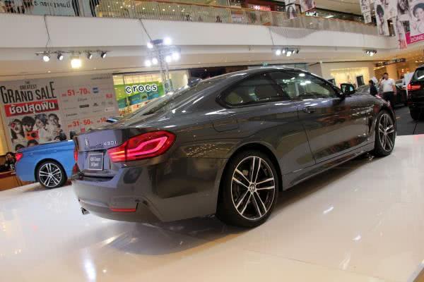 BMW 430i Coupe M Sport เป็นครั้งแรกในงาน PERFORMANCE MOTORS XPO 2017