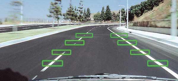 ถ้าออกนอกเลน จะส่งสัญญาณเตือนผู้ขับ