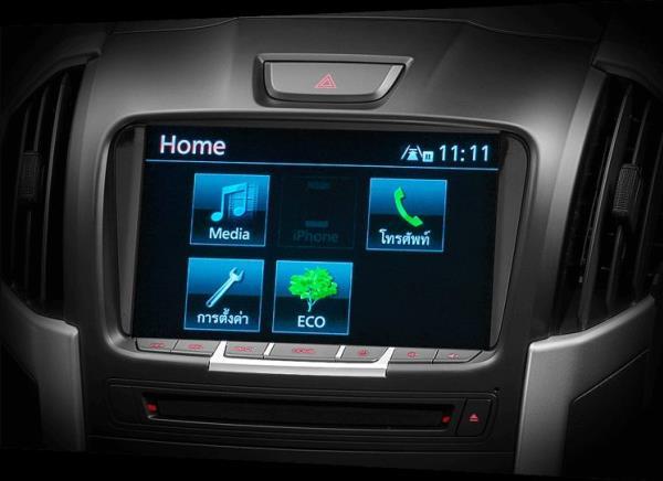 ดีไซน์ภายในของ Isuzu D-MAX V-Cross Max 4×4