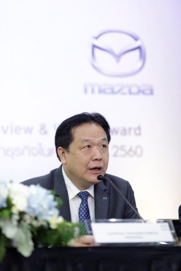 เปิดเผยผลประกอบการครึ่งปีแรกของปี 2560 ร้อนแรงเกินความคาดหมายจาก Mazda