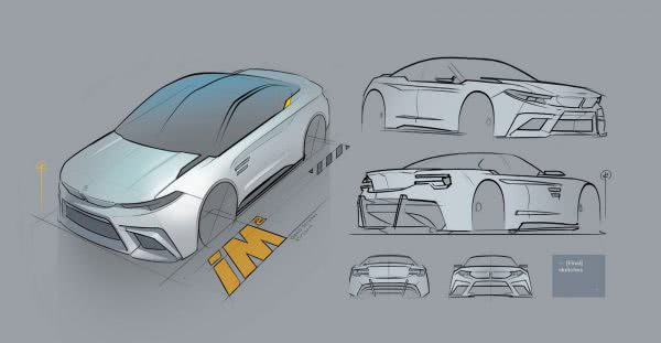BMW iM2 ตัว Concept