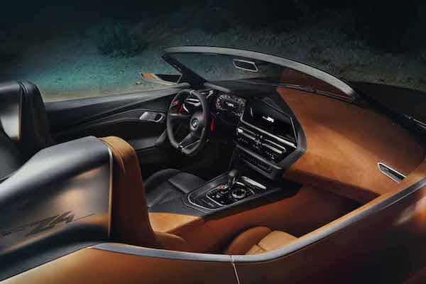 ภายใน BMW Z4