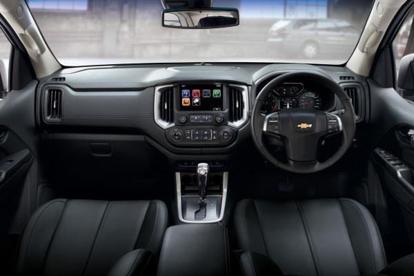 การออกแบบภายในของ Chevrolet Trailblazer Z71 2017