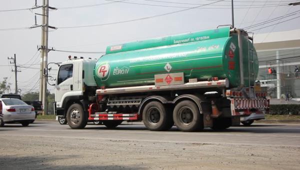 รถบรรทุกน้ำมัน