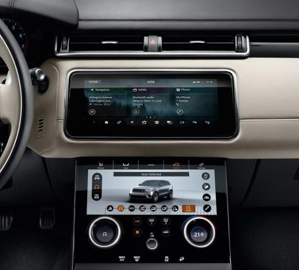 อุปกรณ์อำนวยความสะดวกของ Range Rover Velar 2017