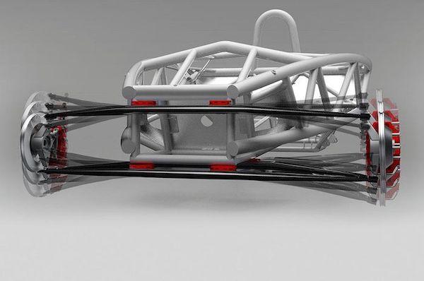 การทำงานของช่วงล่างประเภทนี้ สามารถผลิตกระแสไฟฟ้าได้ด้วย