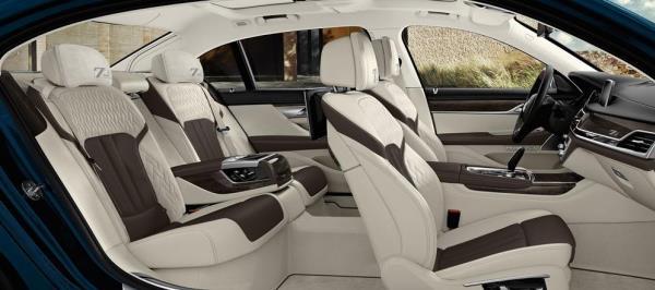 ภายในห้องโดยสาร BMW 7 Series 2017 Edition 40 Jahre โทนสี Smoke White/Cohiba