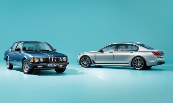 BMW 7 Series 2017 Edition 40 Jahre มาพร้อมกับสีตัวถังที่มีให้เลือกทั้ง Frozen Silver metallic และ Petrol Mica metallic