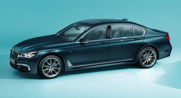 BMW 7 Series 2017 Edition 40 Jahre สีตัวถัง Petrol Mica metallic