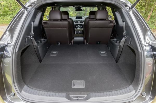 ห้องเก็บสัมภาระด้านท้าย Mazda CX-8