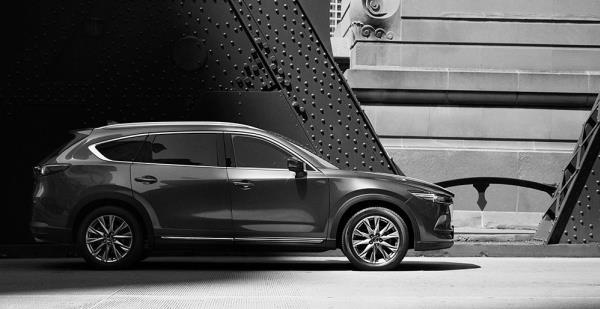 ตัวถังของ Mazda CX-8 2018 ใหม่
