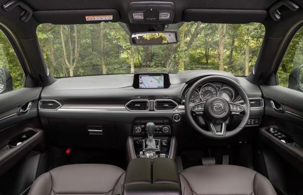 อุปกรณ์อำนวยความสะดวกของ Mazda CX-8 2017 ใหม่