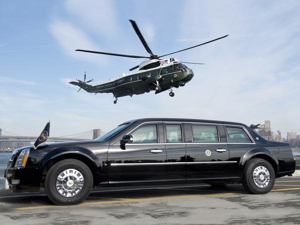 Cadilac One พาหนะคู่ใจของประธานาธิบดีแห่งสหรัฐอเมริกา