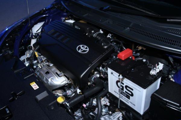 เครื่องยนต์ 1,200 ซีซี 3NR-FE เทคโนโลยี Dual VVT-i 4 สูบ DOHC ประหยัดน้ำมัน