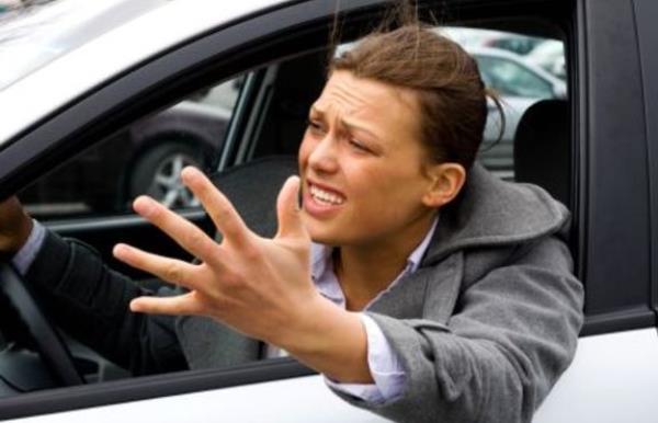 ควบคุมอารมณ์เวลาขับรถ