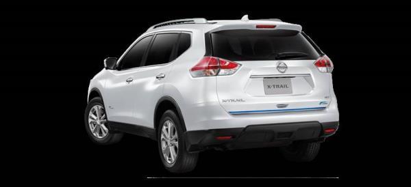 การออกแบบด้านหลังของ All new Nissan X-Trail Hybrid 2017