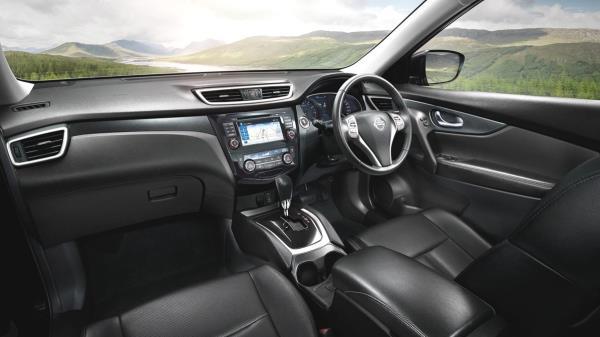 อุปกรตกแต่งภายในของ All new Nissan X-Trail Hybrid 2017