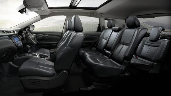 เบาะนั่งห้องโดยสาร All new Nissan X-Trail Hybrid 2017