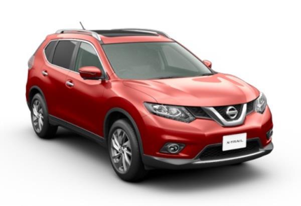 X-Trail Hybrid สีแดง เรเดียนท์ เรด Radiant Red (NAH)