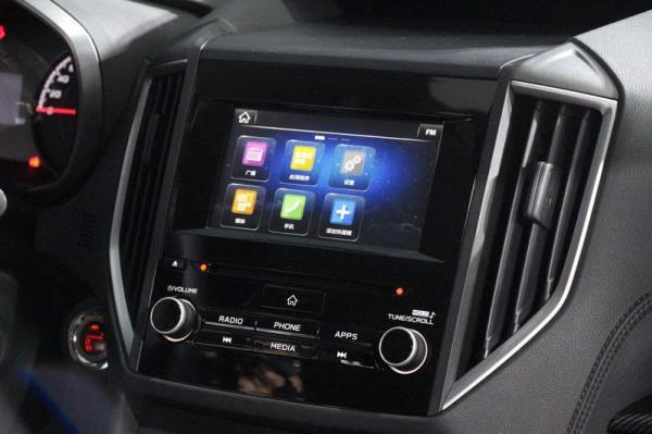 หน้าจอสัมผัสขนาด 8 นิ้ว ที่มีระบบ Apple Carplay