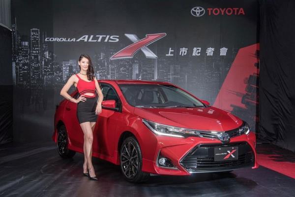 Toyota Corolla Altis X 2017 รุ่นแต่งพิเศษใหม่