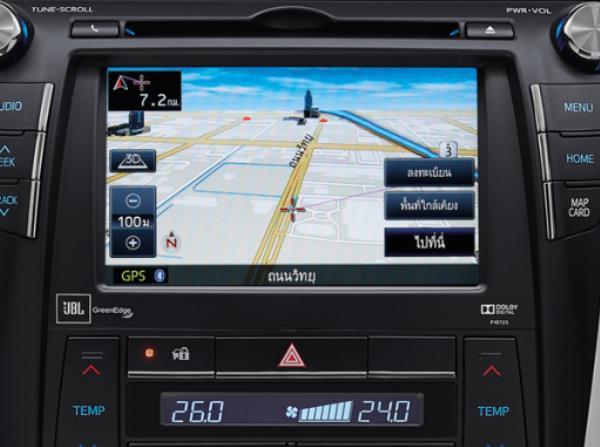 ระบบนำทางในรถ In-car Navigator แบบหน้าจอสัมผัส