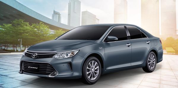 ราคารถ Toyota Camry เดือนตุลาคม 2017