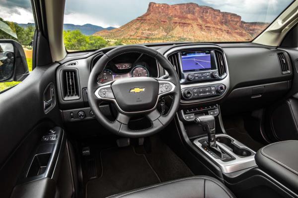 Chevrolet Colorado-ZR2 interior การตกแต่งภายใน