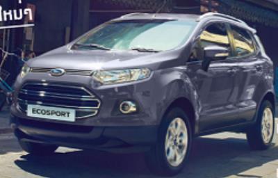Ford EcoSport สีน้ำเงิน