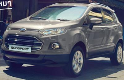 Ford EcoSport สีเงิน