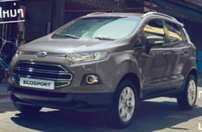 Ford EcoSport สีเทา