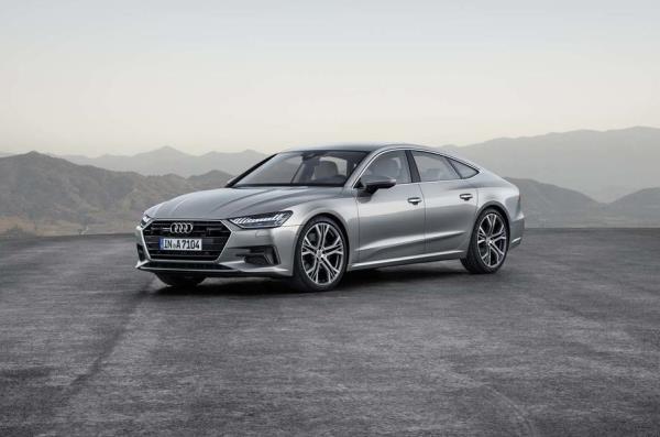 Audi A7 2017 ใหม่ รถในกลุ่มสปอร์ต 4 ประตู คูเป้ สุดหรู