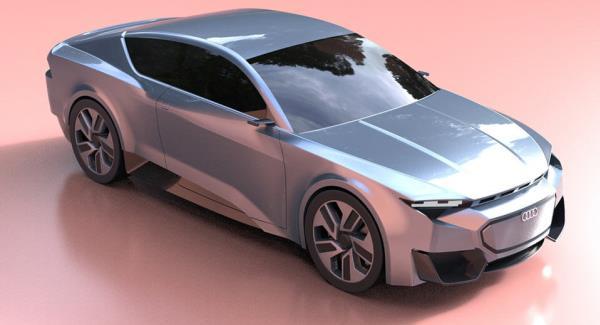Audi GT 2020 เครื่องยนต์ V6 turbocharged ขนาด 2.0 และ 3.0 ลิตร