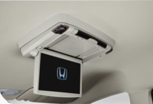 ผู้โดยสารตอนหลังมีเครื่องเล่นดีวีดี พร้อมจอ LCD ขนาด 10 นิ้ว