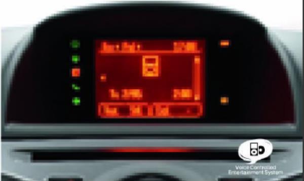 จอแสดงผลข้อมูลอเนกประสงค์ (Multi-Function Display) รวบรวมข้อมูลทั้งหมดของรถ