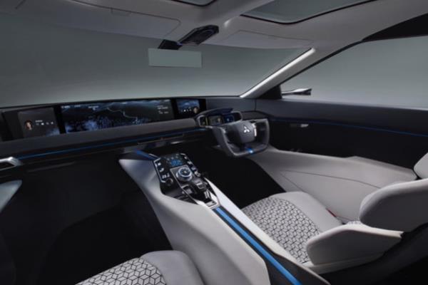 E-evo concept interior ด้วยภายในที่กว้างขวางมาพร้อมกับความสะดวกสบายของเทคโนโลยี