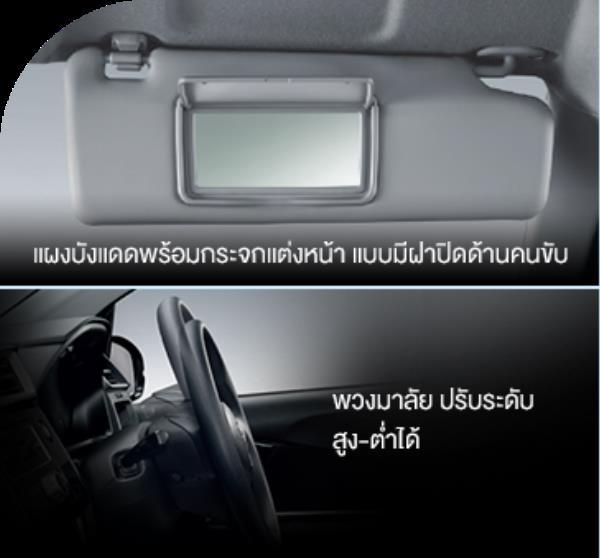 ภายในรถของ Amaze 2017