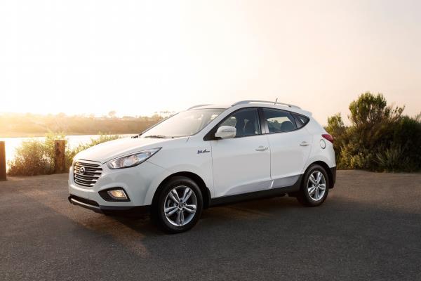 รถยนต์ Hyundai เซลล์เชื้อเพลิง